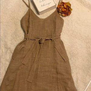 Adorable linen dress